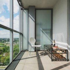 Отель P&O Apartments Arkadia 8 Польша, Варшава - отзывы, цены и фото номеров - забронировать отель P&O Apartments Arkadia 8 онлайн балкон