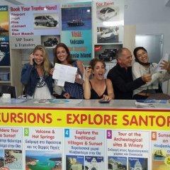 Отель Sunrise Studios Perissa Греция, Остров Санторини - 8 отзывов об отеле, цены и фото номеров - забронировать отель Sunrise Studios Perissa онлайн интерьер отеля