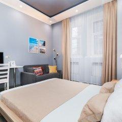 Мини-Отель Брусника Полежаевская комната для гостей фото 2