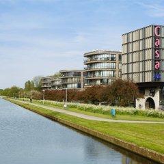 Hotel Casa Amsterdam Амстердам приотельная территория