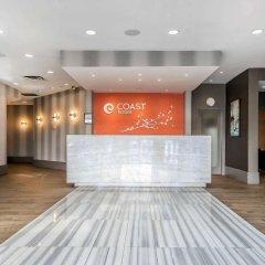 Отель Coast Vancouver Airport Канада, Ванкувер - отзывы, цены и фото номеров - забронировать отель Coast Vancouver Airport онлайн интерьер отеля фото 2