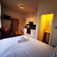 Апартаменты London Euston Luxury Apartments Лондон удобства в номере