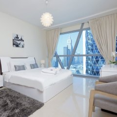 Отель Kennedy Towers - Park Towers Дубай комната для гостей