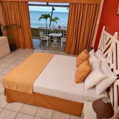 Отель Kaz Kreol Beach Lodge & Wellness Retreat комната для гостей фото 2