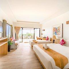 Отель Villa Cha-Cha Krabi Beachfront Resort Таиланд, Краби - отзывы, цены и фото номеров - забронировать отель Villa Cha-Cha Krabi Beachfront Resort онлайн комната для гостей фото 2