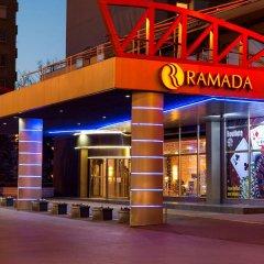 Отель Ramada by Wyndham Sofia City Center Болгария, София - 4 отзыва об отеле, цены и фото номеров - забронировать отель Ramada by Wyndham Sofia City Center онлайн вид на фасад