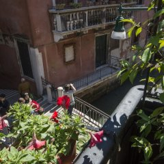 Отель Becher Италия, Венеция - отзывы, цены и фото номеров - забронировать отель Becher онлайн балкон