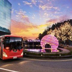 Отель Sheraton Grande Walkerhill городской автобус