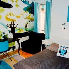 Отель Marken Guesthouse Берген комната для гостей