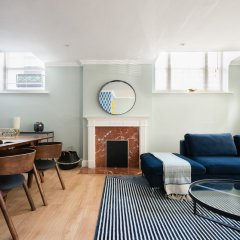Отель The Kensington Palace Mews - Bright & Modern 6bdr House With Garage Лондон сауна
