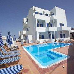 Отель Cyclades Греция, Остров Санторини - отзывы, цены и фото номеров - забронировать отель Cyclades онлайн бассейн фото 3