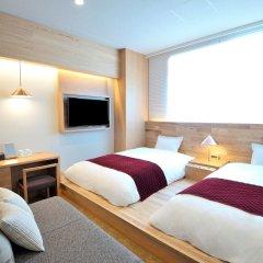 hotel androoms Osaka Hommachi комната для гостей