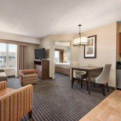 Отель Homewood Suites By Hilton Columbus-Hilliard Хиллиард комната для гостей