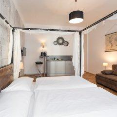 Отель Vintage Apartments Naschmarkt Австрия, Вена - отзывы, цены и фото номеров - забронировать отель Vintage Apartments Naschmarkt онлайн комната для гостей фото 4