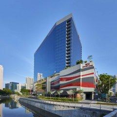 Hotel Boss Сингапур приотельная территория
