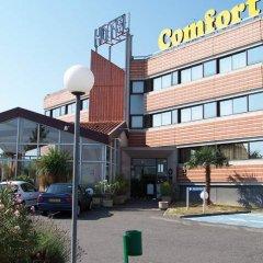 Отель Comfort Hotel Toulouse Sud Франция, Рамонвиль-Сент-Ань - отзывы, цены и фото номеров - забронировать отель Comfort Hotel Toulouse Sud онлайн парковка