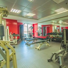 Отель HiGuests Vacation Homes - Sulafa Tower фитнесс-зал