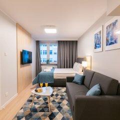 Отель Q17 Apartments Польша, Вроцлав - отзывы, цены и фото номеров - забронировать отель Q17 Apartments онлайн комната для гостей фото 3