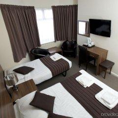 Отель King Solomon Hotel Великобритания, Лондон - 1 отзыв об отеле, цены и фото номеров - забронировать отель King Solomon Hotel онлайн комната для гостей фото 2