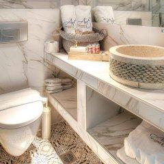 Отель Art Boutique Hotel Греция, Пефкохори - 1 отзыв об отеле, цены и фото номеров - забронировать отель Art Boutique Hotel онлайн ванная