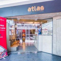 Отель Atlas Bangkok Бангкок банкомат