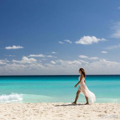 Отель Marriott Cancun Resort пляж