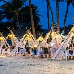 Отель Dara Samui Beach Resort - Adult Only Таиланд, Самуи - отзывы, цены и фото номеров - забронировать отель Dara Samui Beach Resort - Adult Only онлайн пляж фото 2