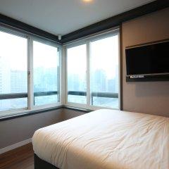 Отель Philstay Myeongdong Южная Корея, Сеул - отзывы, цены и фото номеров - забронировать отель Philstay Myeongdong онлайн комната для гостей фото 4