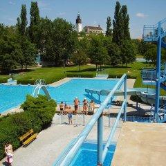 Отель Pension Prislin Литомержице бассейн