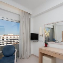 Отель Vrissiana Beach Hotel Кипр, Протарас - 1 отзыв об отеле, цены и фото номеров - забронировать отель Vrissiana Beach Hotel онлайн комната для гостей фото 6