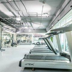 Апартаменты Peaks Apartments Dubai Marina фитнесс-зал
