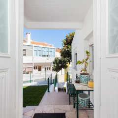 Отель Algés Village Casa 4 by Lisbon Coast балкон