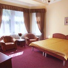 Отель Spa Hotel Purkyně Чехия, Карловы Вары - отзывы, цены и фото номеров - забронировать отель Spa Hotel Purkyně онлайн комната для гостей фото 3