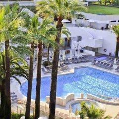Отель Novotel Cannes Montfleury Франция, Канны - отзывы, цены и фото номеров - забронировать отель Novotel Cannes Montfleury онлайн бассейн фото 3