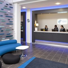Отель Holiday Inn Express Manchester City Centre Arena интерьер отеля