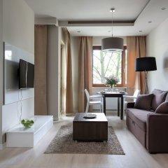 Отель Chopin Apartments Union Польша, Варшава - отзывы, цены и фото номеров - забронировать отель Chopin Apartments Union онлайн комната для гостей фото 4