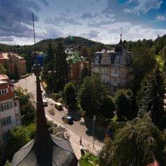 Отель Apartmany Villa Liberty Чехия, Карловы Вары - отзывы, цены и фото номеров - забронировать отель Apartmany Villa Liberty онлайн балкон
