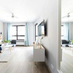 Апартаменты Comfortable Apartment in Warsaw комната для гостей