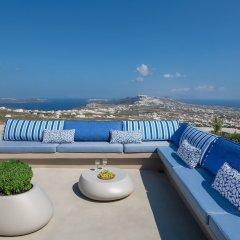 Отель Halcyon Days Suites Греция, Остров Санторини - отзывы, цены и фото номеров - забронировать отель Halcyon Days Suites онлайн балкон