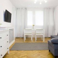 Отель Hosapartments City Center Польша, Варшава - 2 отзыва об отеле, цены и фото номеров - забронировать отель Hosapartments City Center онлайн комната для гостей фото 4