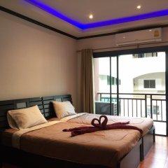 Апартаменты K&J Apartment Паттайя комната для гостей фото 2