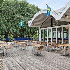 Отель First Camp Malmo Мальме бассейн