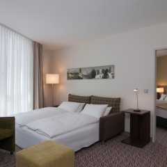 Отель Holiday Inn Munich-Unterhaching Германия, Унтерхахинг - 7 отзывов об отеле, цены и фото номеров - забронировать отель Holiday Inn Munich-Unterhaching онлайн комната для гостей