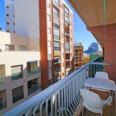 Апартаменты Holiday Apartment Aitana - Costa Calpe балкон