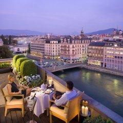 Отель Mandarin Oriental, Geneva Швейцария, Женева - отзывы, цены и фото номеров - забронировать отель Mandarin Oriental, Geneva онлайн бассейн фото 3