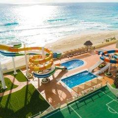 Отель Crown Paradise Club Cancun - Todo Incluido пляж