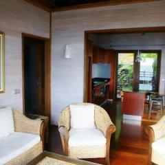 Отель Tiahura Dream Lodge Французская Полинезия, Муреа - отзывы, цены и фото номеров - забронировать отель Tiahura Dream Lodge онлайн комната для гостей фото 4