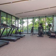 Отель Oakwood Premier OUE Singapore фитнесс-зал фото 2