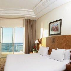Отель Grand Mogador SEA VIEW Марокко, Танжер - отзывы, цены и фото номеров - забронировать отель Grand Mogador SEA VIEW онлайн комната для гостей фото 2