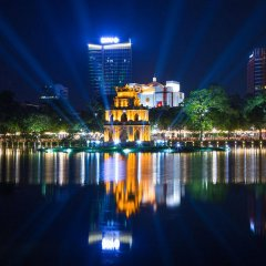 Отель Hanoi Boutique Hotel & Spa Вьетнам, Ханой - отзывы, цены и фото номеров - забронировать отель Hanoi Boutique Hotel & Spa онлайн приотельная территория фото 2